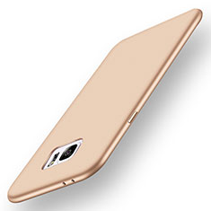 Silikon Hülle Handyhülle Ultra Dünn Schutzhülle Tasche S01 für Samsung Galaxy Note 7 Gold