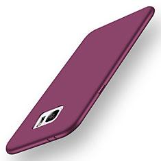 Silikon Hülle Handyhülle Ultra Dünn Schutzhülle Tasche S01 für Samsung Galaxy Note 7 Violett