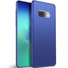 Silikon Hülle Handyhülle Ultra Dünn Schutzhülle Tasche S01 für Samsung Galaxy S10e Blau
