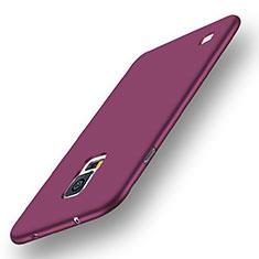 Silikon Hülle Handyhülle Ultra Dünn Schutzhülle Tasche S01 für Samsung Galaxy S5 G900F G903F Violett