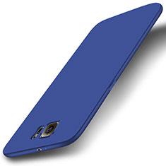 Silikon Hülle Handyhülle Ultra Dünn Schutzhülle Tasche S01 für Samsung Galaxy S6 SM-G920 Blau