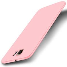 Silikon Hülle Handyhülle Ultra Dünn Schutzhülle Tasche S01 für Samsung Galaxy S6 SM-G920 Rosa