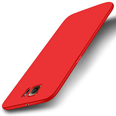 Silikon Hülle Handyhülle Ultra Dünn Schutzhülle Tasche S01 für Samsung Galaxy S6 SM-G920 Rot