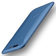 Silikon Hülle Handyhülle Ultra Dünn Schutzhülle Tasche S01 für Xiaomi Black Shark Blau