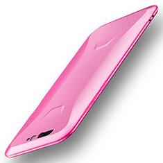 Silikon Hülle Handyhülle Ultra Dünn Schutzhülle Tasche S01 für Xiaomi Black Shark Rosa