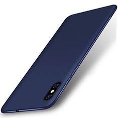 Silikon Hülle Handyhülle Ultra Dünn Schutzhülle Tasche S01 für Xiaomi Mi 8 Explorer Blau