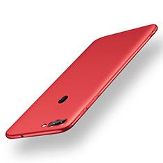 Silikon Hülle Handyhülle Ultra Dünn Schutzhülle Tasche S01 für Xiaomi Mi 8 Lite Rot