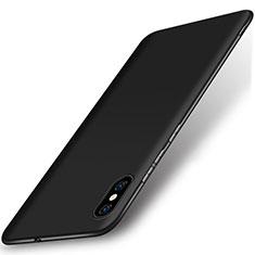 Silikon Hülle Handyhülle Ultra Dünn Schutzhülle Tasche S01 für Xiaomi Mi 8 Pro Global Version Schwarz