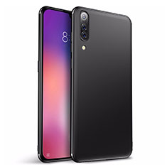 Silikon Hülle Handyhülle Ultra Dünn Schutzhülle Tasche S01 für Xiaomi Mi 9 SE Schwarz