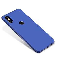 Silikon Hülle Handyhülle Ultra Dünn Schutzhülle Tasche S01 für Xiaomi Mi A2 Blau
