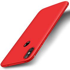 Silikon Hülle Handyhülle Ultra Dünn Schutzhülle Tasche S01 für Xiaomi Mi A2 Lite Rot