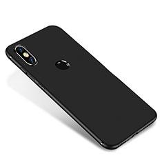Silikon Hülle Handyhülle Ultra Dünn Schutzhülle Tasche S01 für Xiaomi Mi A2 Schwarz