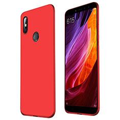 Silikon Hülle Handyhülle Ultra Dünn Schutzhülle Tasche S01 für Xiaomi Mi Max 3 Rot