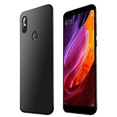 Silikon Hülle Handyhülle Ultra Dünn Schutzhülle Tasche S01 für Xiaomi Mi Max 3 Schwarz