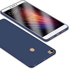 Silikon Hülle Handyhülle Ultra Dünn Schutzhülle Tasche S01 für Xiaomi Mi Max Blau