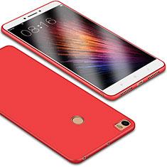 Silikon Hülle Handyhülle Ultra Dünn Schutzhülle Tasche S01 für Xiaomi Mi Max Rot