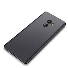 Silikon Hülle Handyhülle Ultra Dünn Schutzhülle Tasche S01 für Xiaomi Mi Mix 2 Schwarz