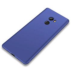 Silikon Hülle Handyhülle Ultra Dünn Schutzhülle Tasche S01 für Xiaomi Mi Mix Evo Blau