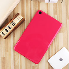 Silikon Hülle Handyhülle Ultra Dünn Schutzhülle Tasche S01 für Xiaomi Mi Pad 4 Pink