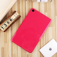 Silikon Hülle Handyhülle Ultra Dünn Schutzhülle Tasche S01 für Xiaomi Mi Pad 4 Plus 10.1 Pink
