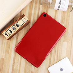 Silikon Hülle Handyhülle Ultra Dünn Schutzhülle Tasche S01 für Xiaomi Mi Pad 4 Plus 10.1 Rot