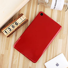 Silikon Hülle Handyhülle Ultra Dünn Schutzhülle Tasche S01 für Xiaomi Mi Pad 4 Rot