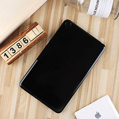 Silikon Hülle Handyhülle Ultra Dünn Schutzhülle Tasche S01 für Xiaomi Mi Pad 4 Schwarz