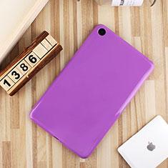 Silikon Hülle Handyhülle Ultra Dünn Schutzhülle Tasche S01 für Xiaomi Mi Pad 4 Violett