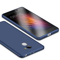 Silikon Hülle Handyhülle Ultra Dünn Schutzhülle Tasche S01 für Xiaomi Redmi 4 Standard Edition Blau