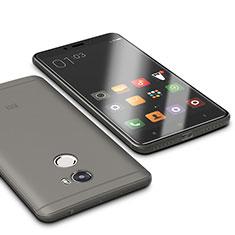 Silikon Hülle Handyhülle Ultra Dünn Schutzhülle Tasche S01 für Xiaomi Redmi 4 Standard Edition Grau