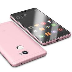 Silikon Hülle Handyhülle Ultra Dünn Schutzhülle Tasche S01 für Xiaomi Redmi 4 Standard Edition Rosa