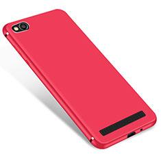 Silikon Hülle Handyhülle Ultra Dünn Schutzhülle Tasche S01 für Xiaomi Redmi 5A Rot