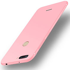 Silikon Hülle Handyhülle Ultra Dünn Schutzhülle Tasche S01 für Xiaomi Redmi 6 Rosa
