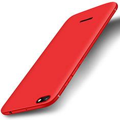 Silikon Hülle Handyhülle Ultra Dünn Schutzhülle Tasche S01 für Xiaomi Redmi 6A Rot