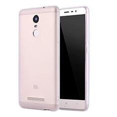 Silikon Hülle Handyhülle Ultra Dünn Schutzhülle Tasche S01 für Xiaomi Redmi Note 3 MediaTek Klar