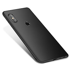 Silikon Hülle Handyhülle Ultra Dünn Schutzhülle Tasche S01 für Xiaomi Redmi Note 5 AI Dual Camera Schwarz