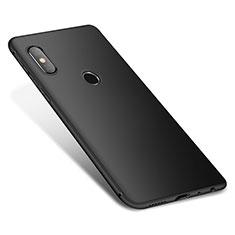 Silikon Hülle Handyhülle Ultra Dünn Schutzhülle Tasche S01 für Xiaomi Redmi Note 5 Pro Schwarz