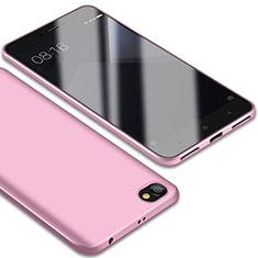 Silikon Hülle Handyhülle Ultra Dünn Schutzhülle Tasche S01 für Xiaomi Redmi Note 5A Standard Edition Rosa