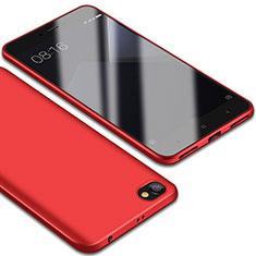 Silikon Hülle Handyhülle Ultra Dünn Schutzhülle Tasche S01 für Xiaomi Redmi Note 5A Standard Edition Rot
