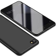 Silikon Hülle Handyhülle Ultra Dünn Schutzhülle Tasche S01 für Xiaomi Redmi Note 5A Standard Edition Schwarz