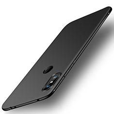 Silikon Hülle Handyhülle Ultra Dünn Schutzhülle Tasche S01 für Xiaomi Redmi Note 6 Pro Schwarz