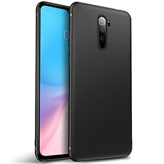 Silikon Hülle Handyhülle Ultra Dünn Schutzhülle Tasche S01 für Xiaomi Redmi Note 8 Pro Schwarz