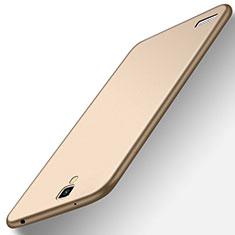 Silikon Hülle Handyhülle Ultra Dünn Schutzhülle Tasche S01 für Xiaomi Redmi Note Prime Gold