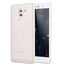 Silikon Hülle Handyhülle Ultra Dünn Schutzhülle Tasche S02 für Huawei GR5 (2017) Weiß