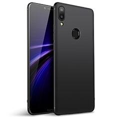 Silikon Hülle Handyhülle Ultra Dünn Schutzhülle Tasche S02 für Huawei Honor Play Schwarz