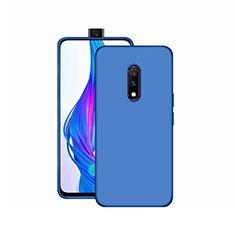 Silikon Hülle Handyhülle Ultra Dünn Schutzhülle Tasche S02 für Realme X Blau