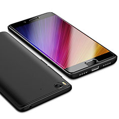 Silikon Hülle Handyhülle Ultra Dünn Schutzhülle Tasche S02 für Xiaomi Mi 5S Schwarz