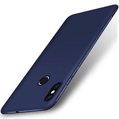 Silikon Hülle Handyhülle Ultra Dünn Schutzhülle Tasche S02 für Xiaomi Mi 8 Blau