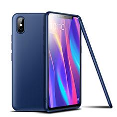 Silikon Hülle Handyhülle Ultra Dünn Schutzhülle Tasche S02 für Xiaomi Mi 8 Pro Global Version Blau