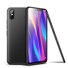 Silikon Hülle Handyhülle Ultra Dünn Schutzhülle Tasche S02 für Xiaomi Mi 8 Pro Global Version Schwarz